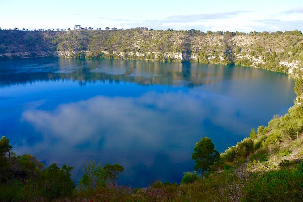 Kobaltblauer Blue Lake - Mount Gambier - South Australia