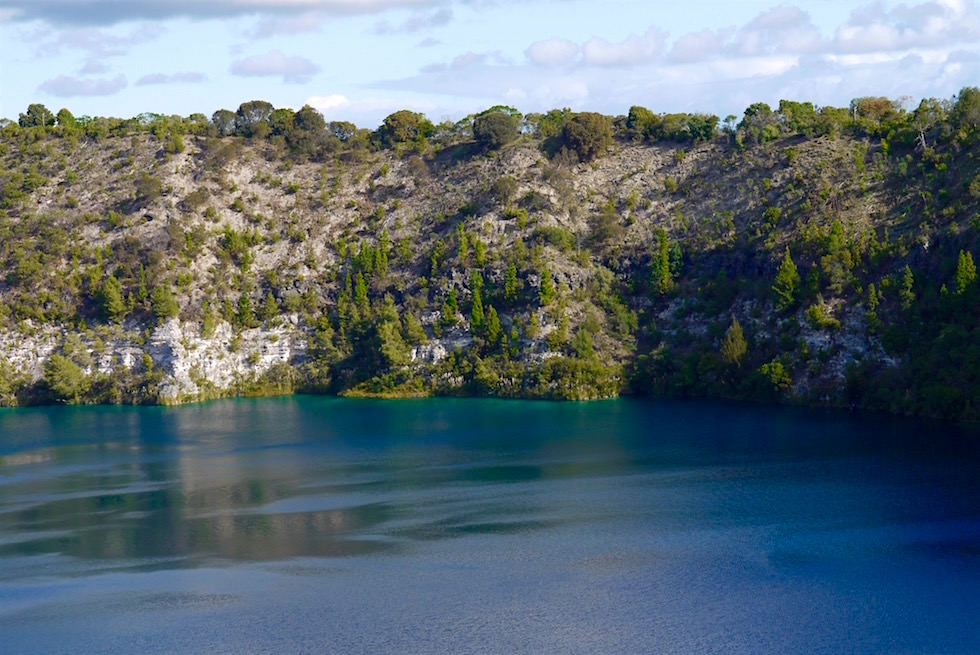 Ausschnitt Blue Lake - Mount Gambier - South Australia