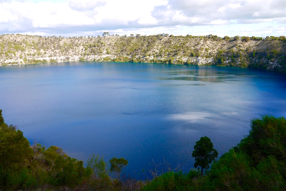 Lookout Blue Lake - Mount Gambier - South Australia