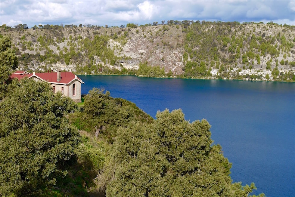 Altes Pumpenhaus am Blue Lake - Mount Gambier - South Australia