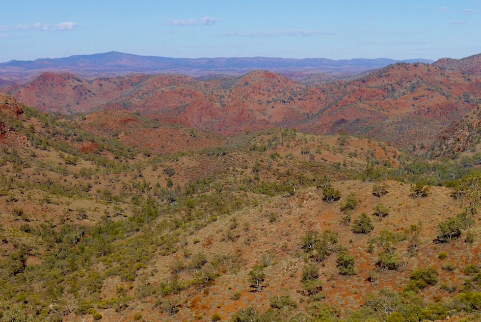 Die Weite der Arkaroola Wilderness Sanctuary - South Australia
