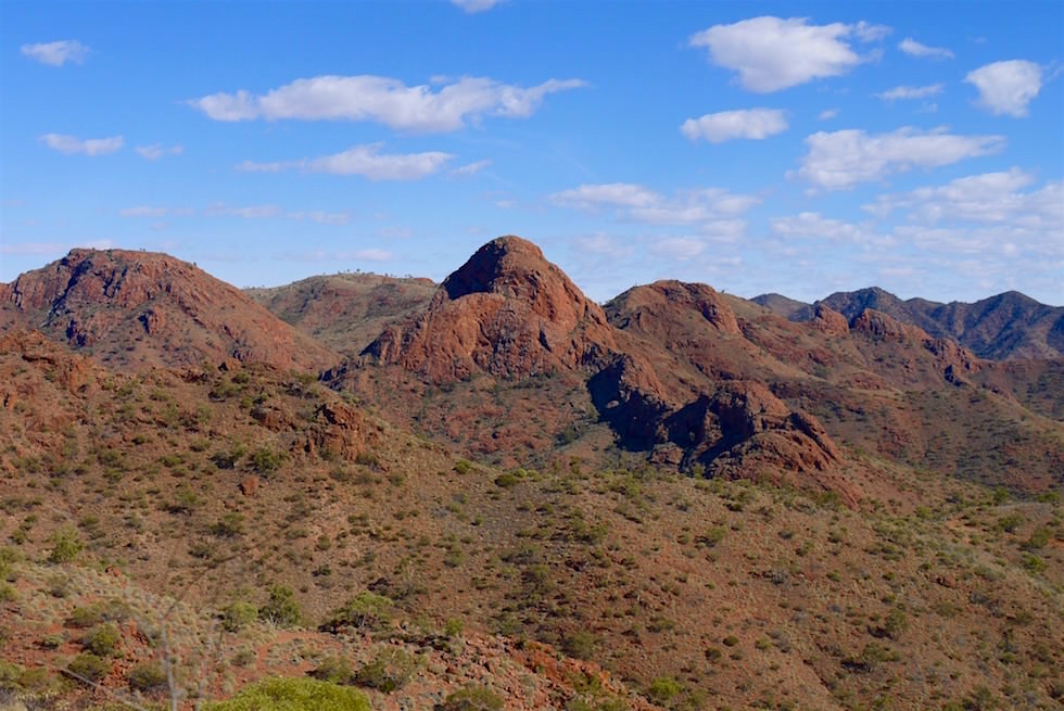 Atemberaubende Ausblicke auf Armchair Mountain - Ridge-Top Tour - Arkaroola - South Australia