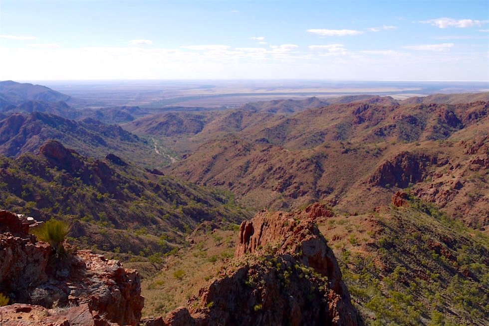 Ausblick vom Klimax der Ridge-Top Tour - Arkaroola Wilderness Sanctuary - Southern Australia