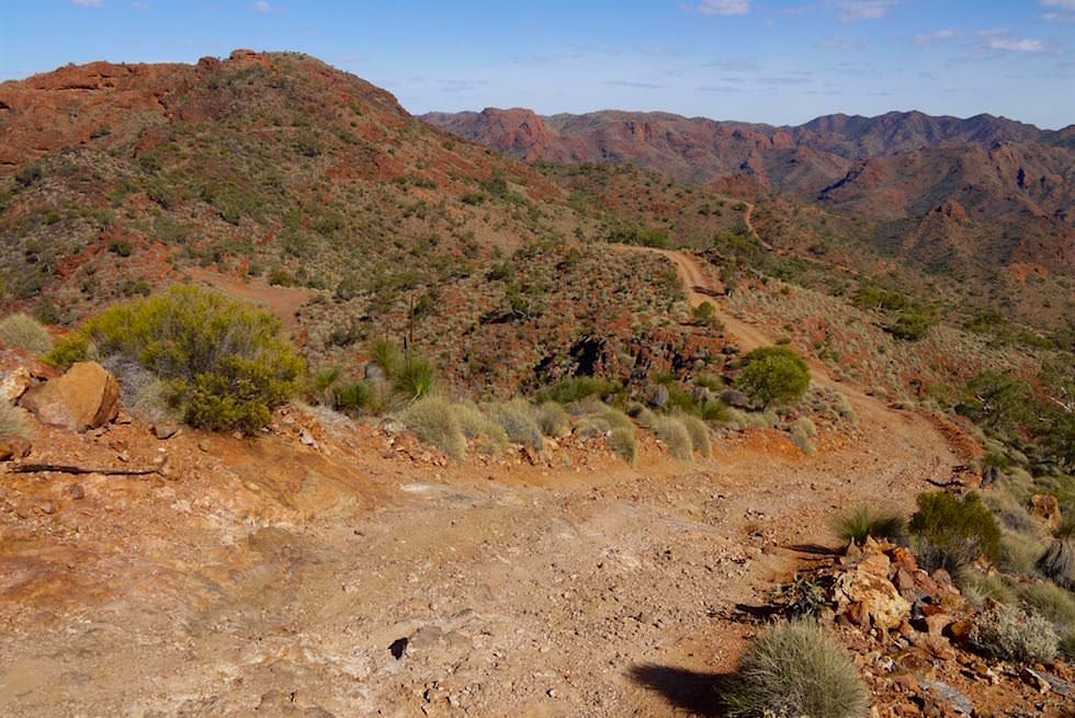 Die Piste der Ridge Top Tour - Arkaroola - South Australia