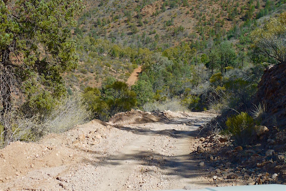 Start & Ende der Ridge-Top Tour - Arkaroola Wilderness Sanctuary - Southern Australia