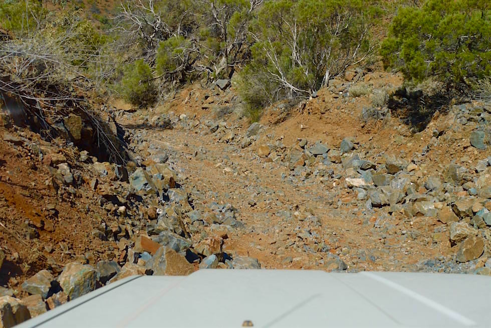 Herausfordernde Piste - Ridge Top Tour - Arkaroola - South Australia