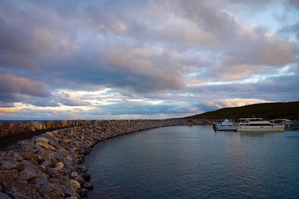 Schöner Hafen von Augusta bei Sonnenuntergang - Western Australia