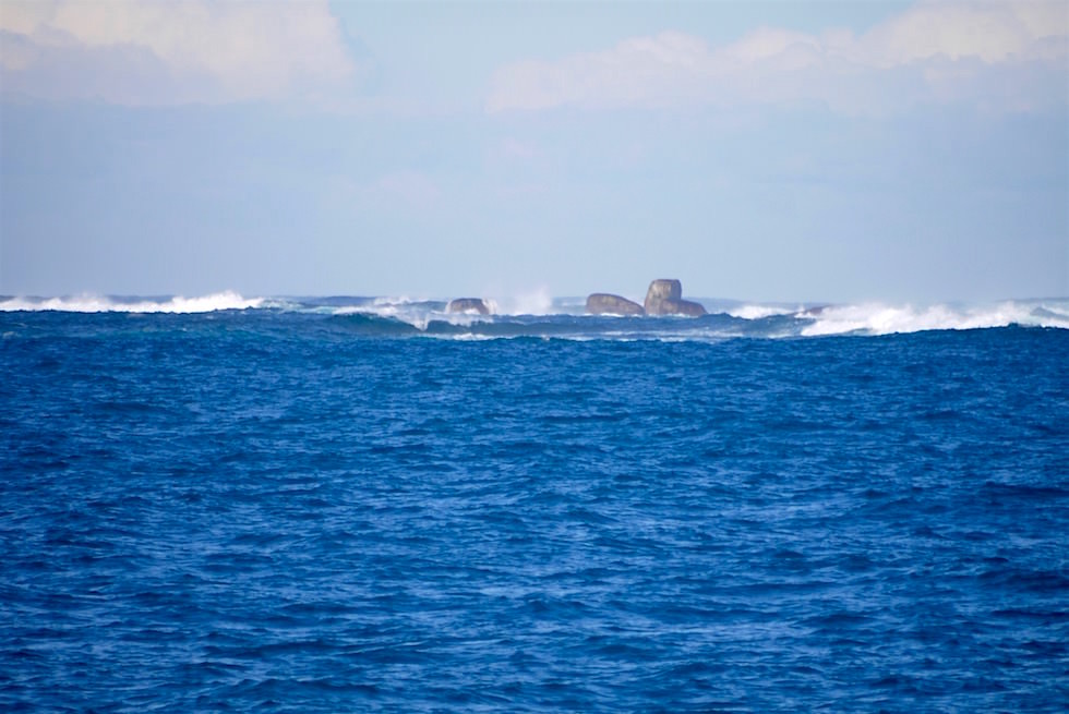Flinders Bay - Ausfahrt - Whale Watch Western Australia