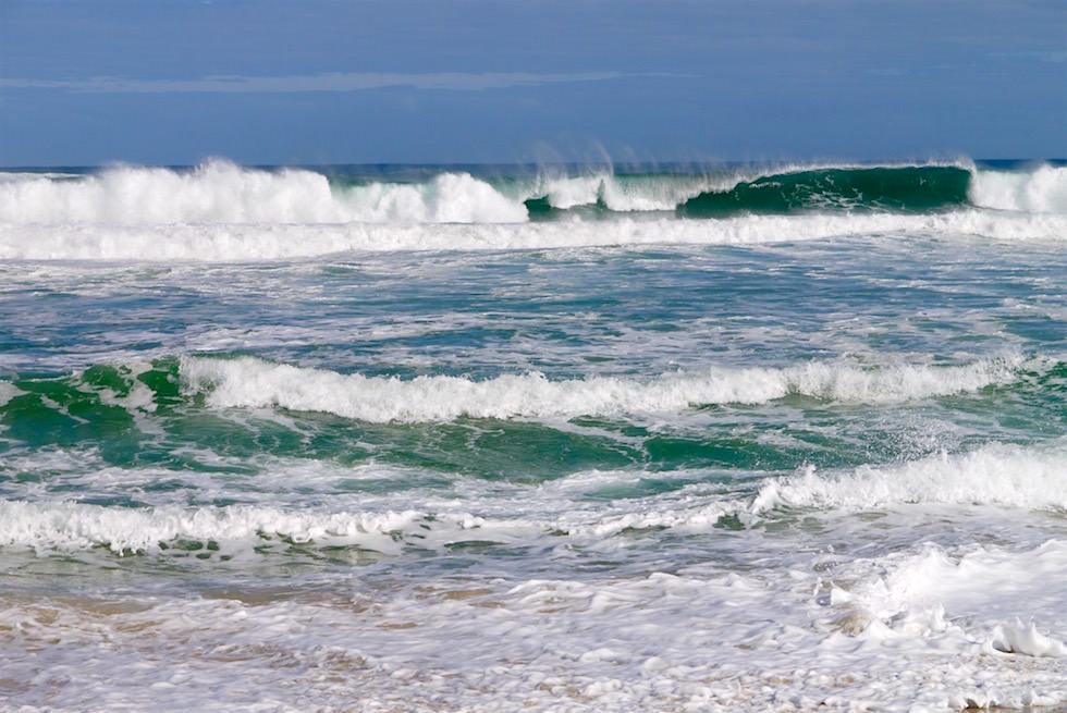 Peitschende Wellen - Southern Ocean beim Yeagarup Beach - Western Australia