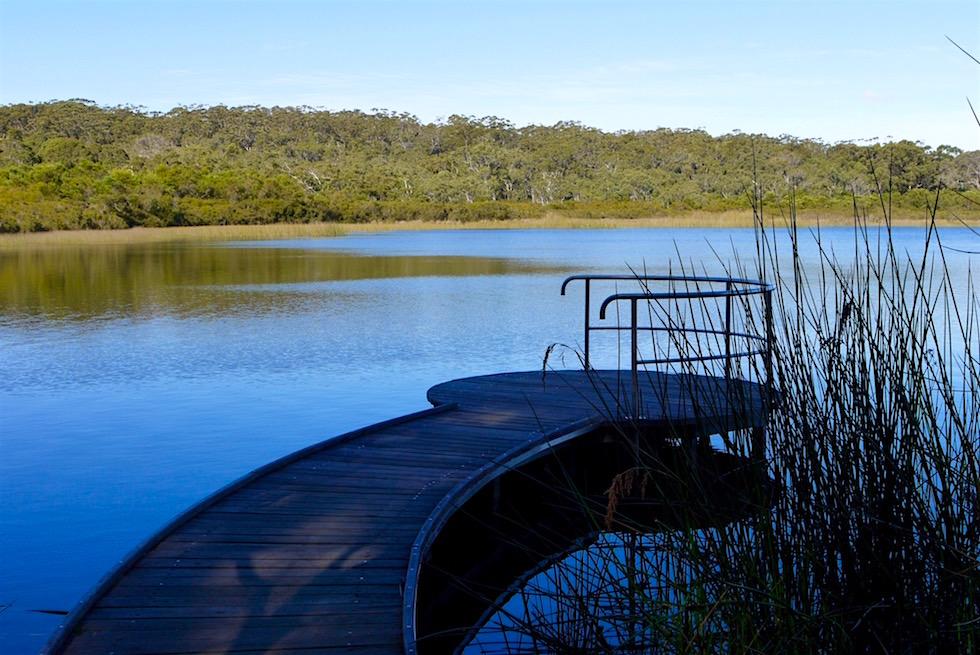 Plattform am Dead Man's Lake - D'Entrecasteaux National Park - Western Australia