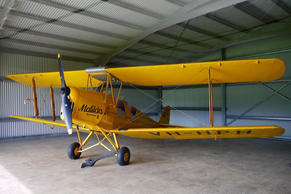 Tiger Moth Matilda - Edwards Winery - Margret River Weintour - Western Australia