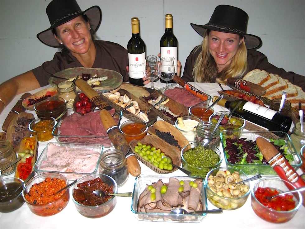 Helen und Bushtucker Food - Margret River - Western Australia