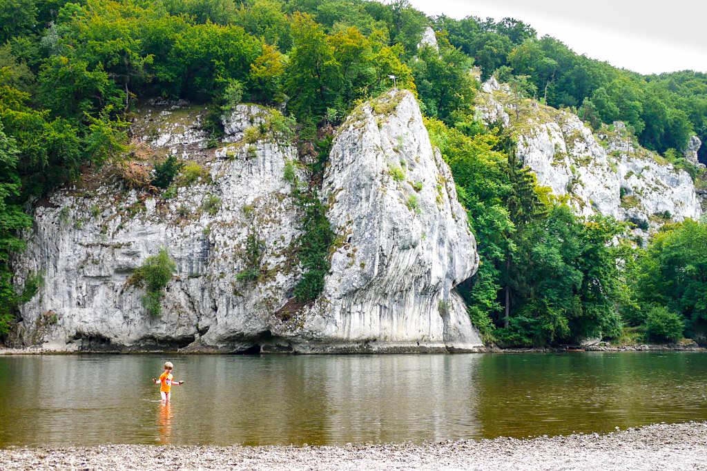 Bizarre, imposante Felsformationen im Donaudurchbruchstal - Wanderung zur Weltenburger Enge & Kloster - Altmühltal, Bayern