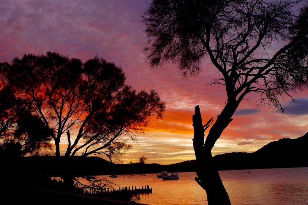 Sonnenaufgang - Coles Bay - Tasmania