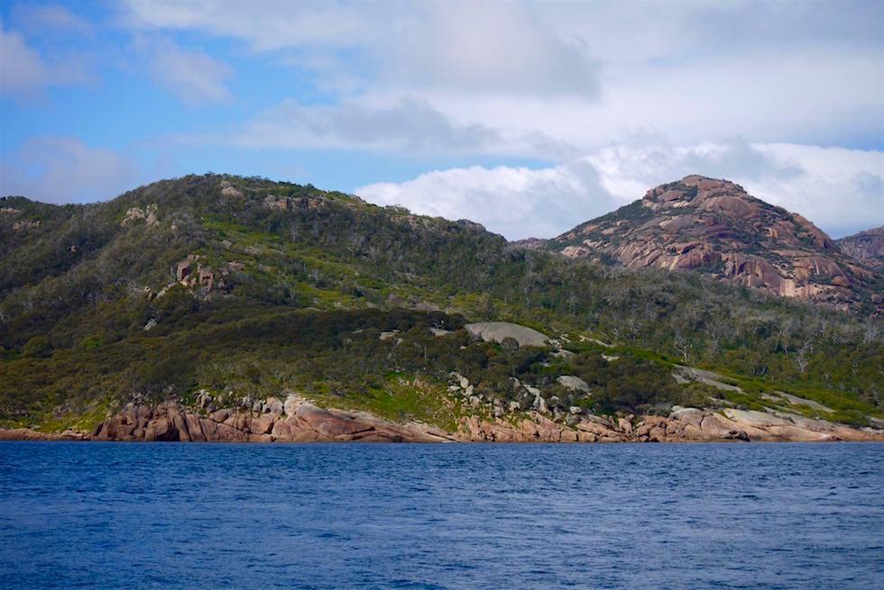 Erste Sonnenstrahlen - Wineglass Bay Cruise - Tasmania