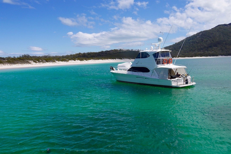 In der Bucht - Wineglass Bay Cruise - Tasmania