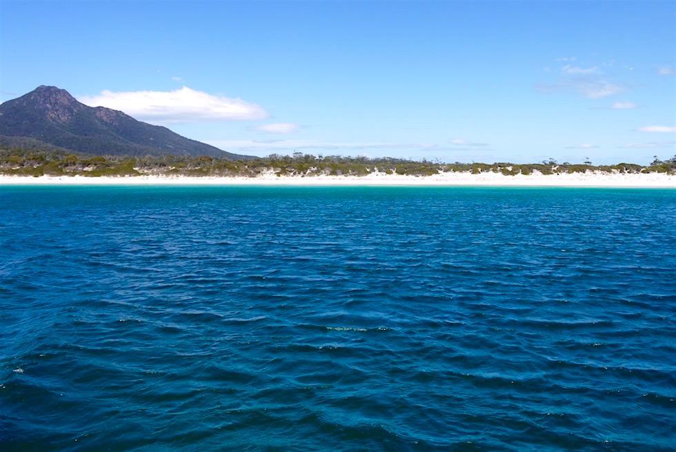 Abschied und Fahrt zurück - Wineglass Bay Beach - Tasmanien