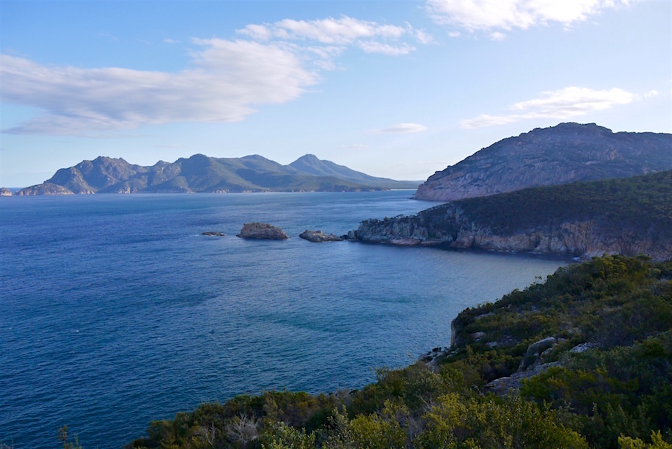 Ausblick Cape Tourville - Freycinet National Park - Tasmanien