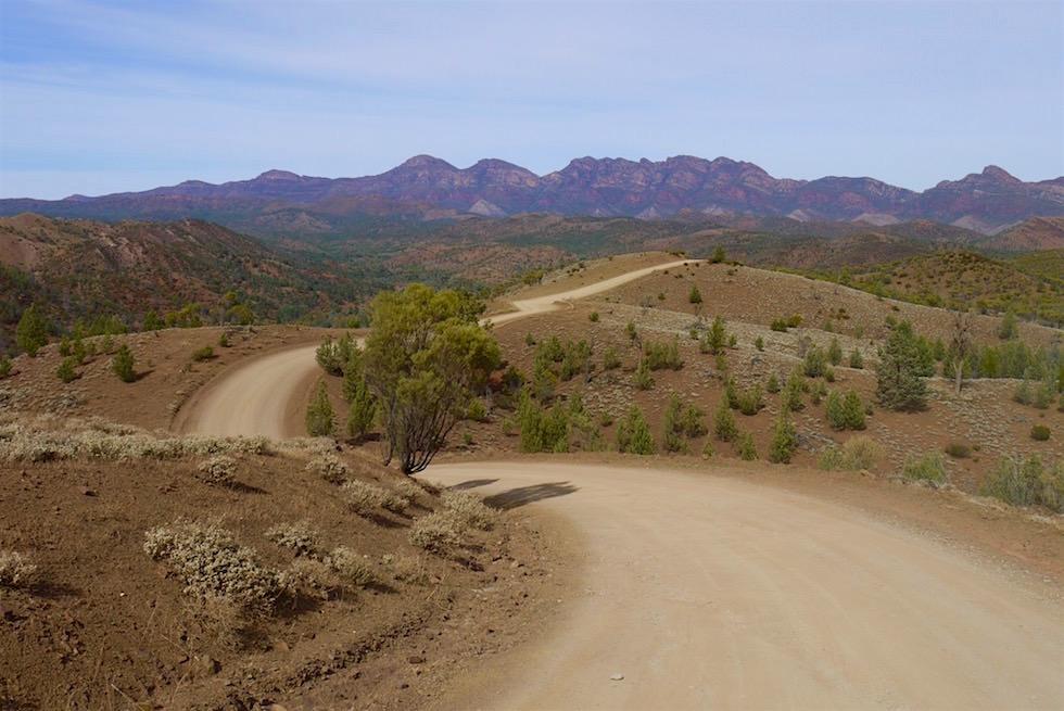 auf dem Weg zur Bunyeroo Gorge - Ikara-Flinders Ranges - South Australia