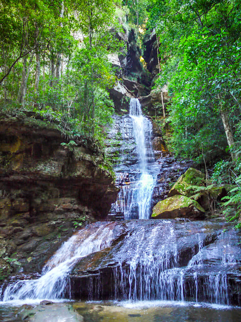 Empress Waterfalls im Valley of Waters -Grandiose Blue Mountains Wanderung - New South Wales