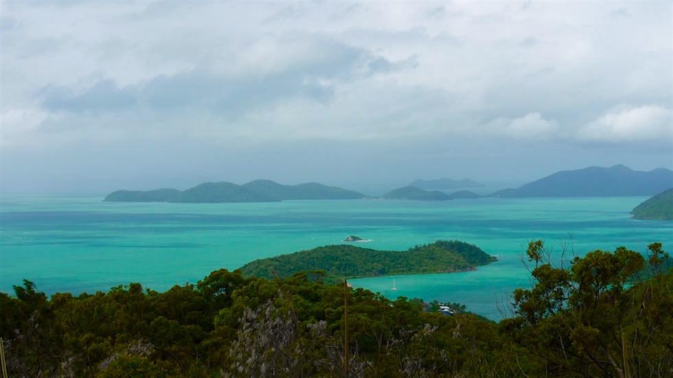 Ausblick - Mount Rooper Wanderung - Airlie Beach - Queensland