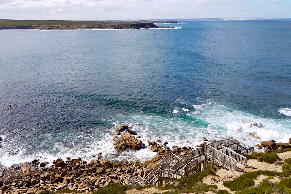 Ausblick vom Right Point Lookout - Fishery Bay - Port Lincoln - South Australia
