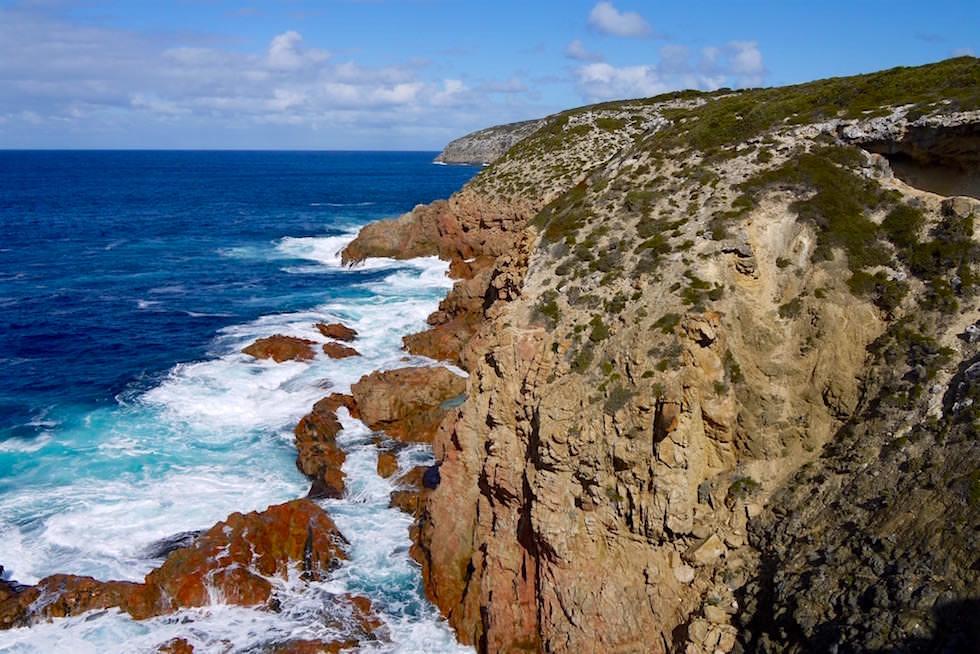 Ausblick auf die Küste vom Swimming Hole - Whalers Way bei Port Lincoln - South Australia