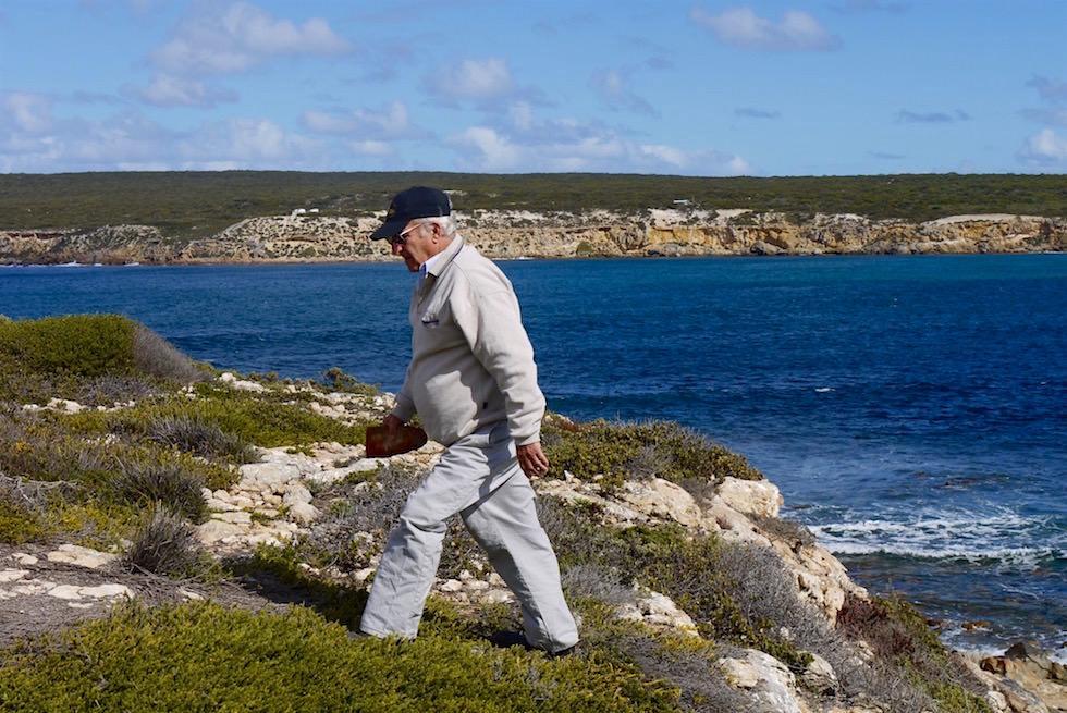 Bob Theakstone Carer of Whalers Way - South Australia