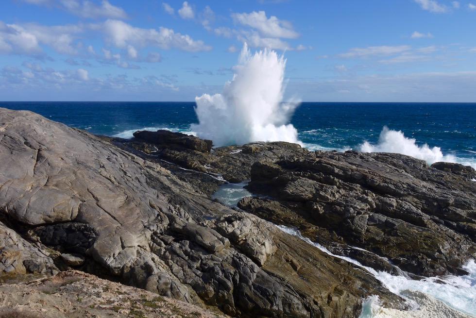 Tosende Wellen des Southern Ocean - Cape Carnot - Whalers Way auf der Eyre Peninsula - South Australia