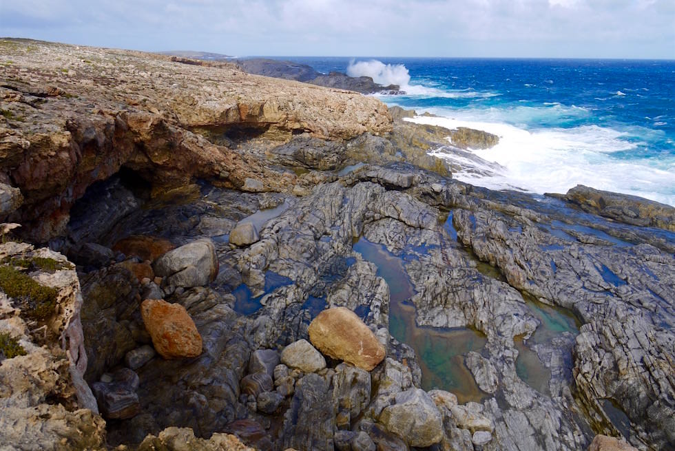 Küste - Old Whalers Grotto - Whalers Way - Southern Australia