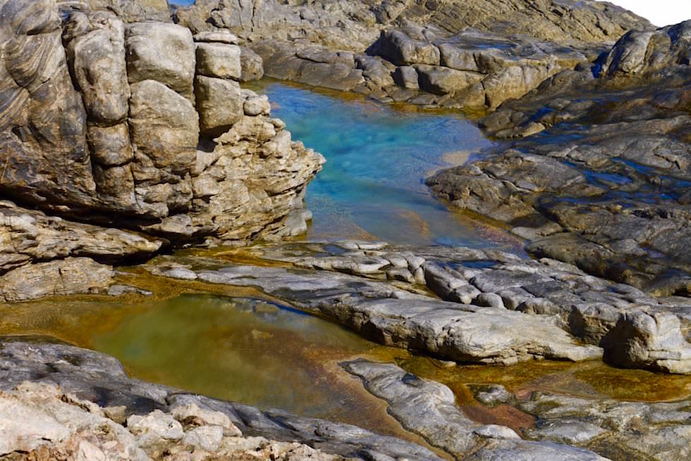 The Caves - Rock Pools - Whalers Way - South Australia