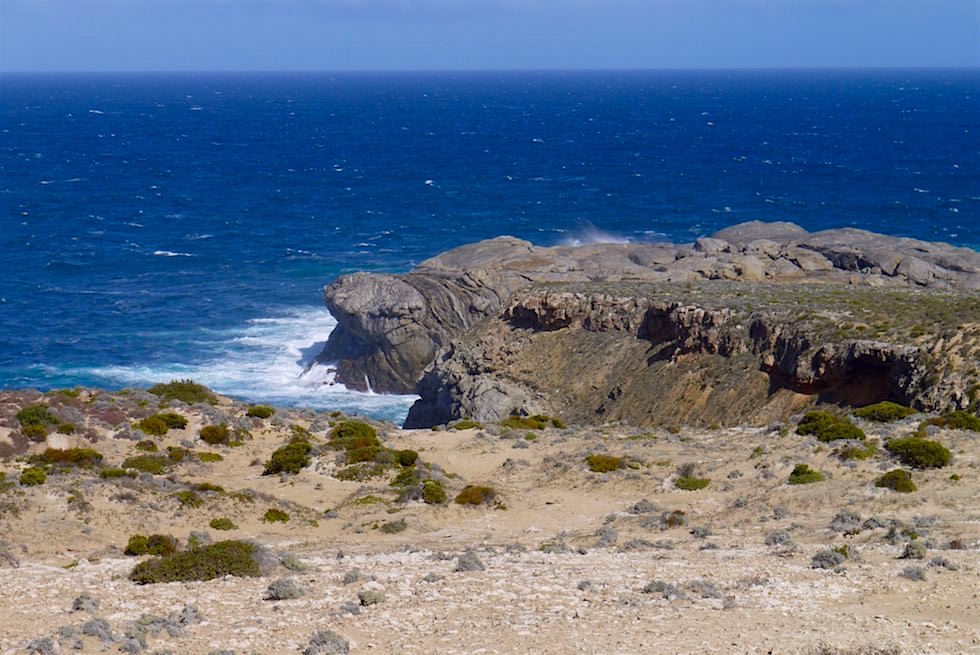 Blick auf Cape Carnot - Whalers Way bei Port Lincoln - South Australia