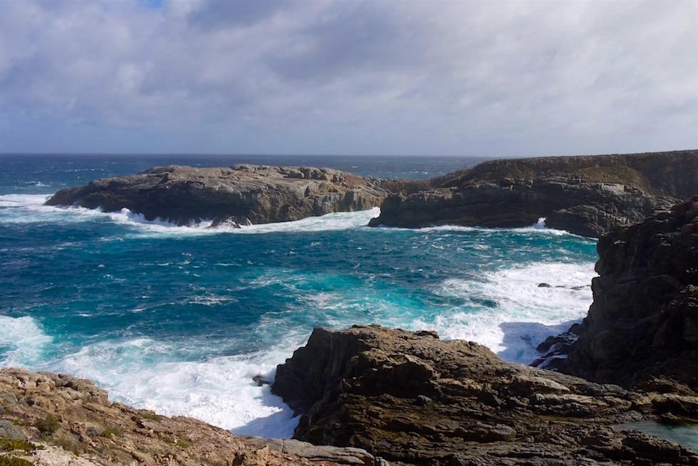 Flinders Crevasse & der wilde Southern Ocean - Whalers Way auf der Eyre Pensinula - South Australia