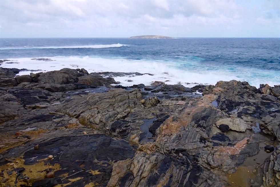 Ungewöhnlich: Basaltbrocken - Whalers Way nahe Port Lincoln - South Australia
