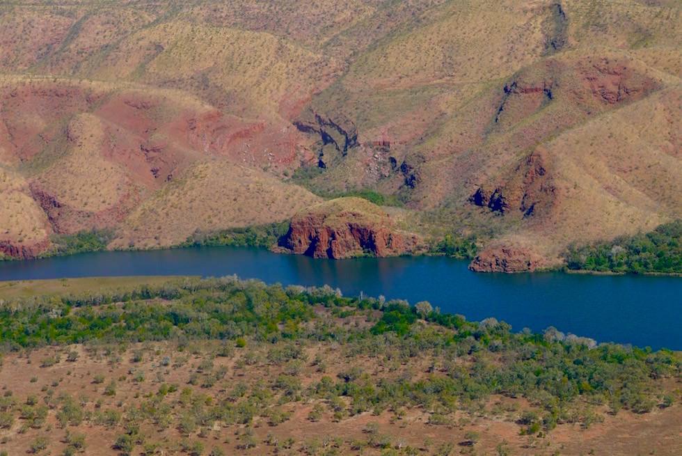 Jumping Rock am Ord River - Kununurra - Kimberley - Western Australia