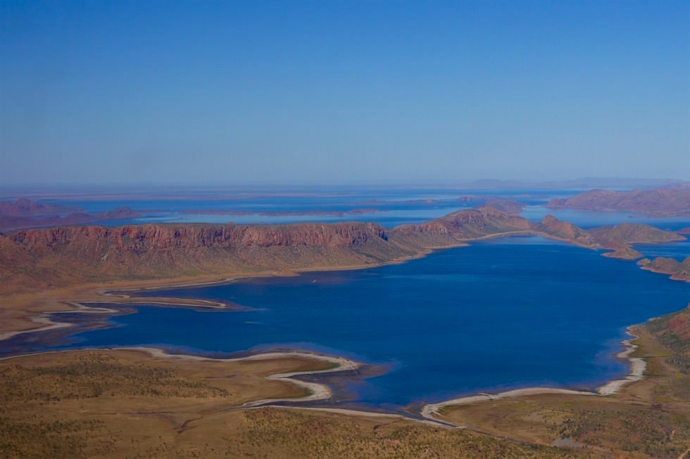 Lake Argyle & Bungle Bungle Ranges - Scenic Flight Kimberley - Western Australia