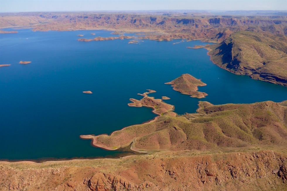 Lake Argyle - Kingfisher Tours in Kununurra - Kimberley - Western Australia