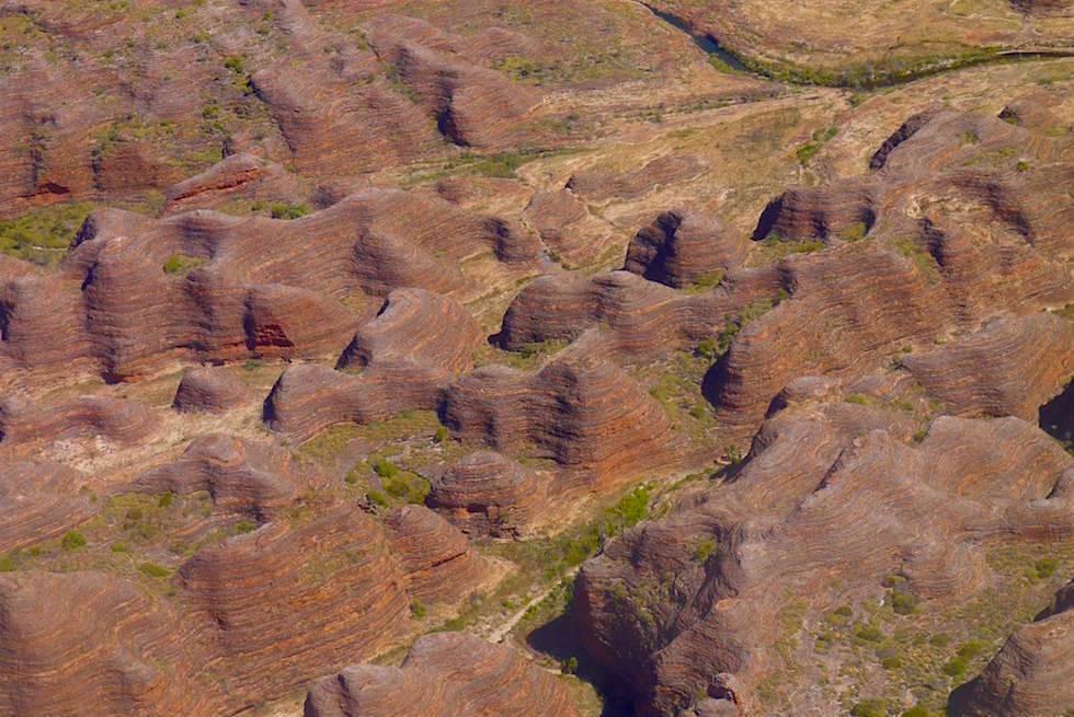 Bungle Bungles von oben - Purnululu Scenic Flight - Kingfisher Tours Kununurra - Kimberley, Western Australia