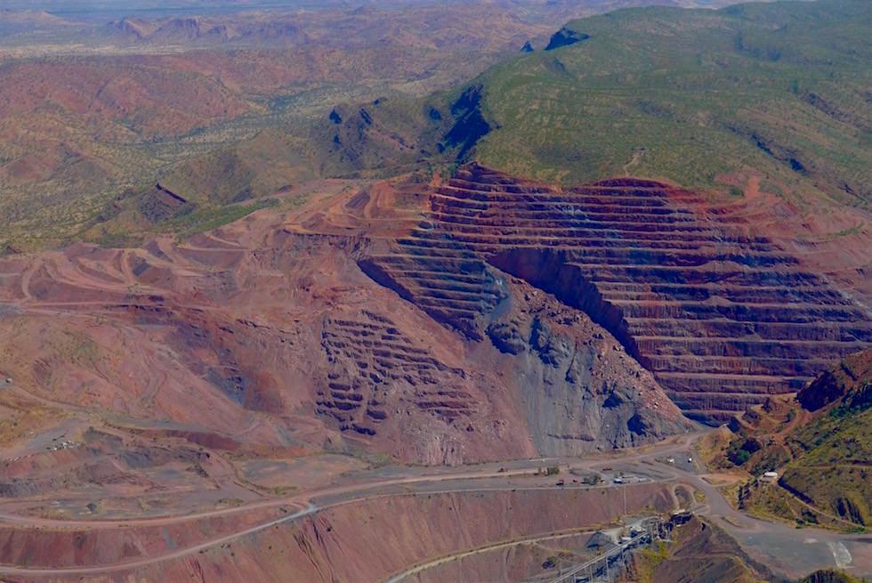 Argyle Mine größte Diamantenmine der Welt - Kimberley - Western Australia