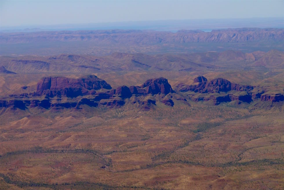 Flug über El Questro - Kimberley - Western Australia