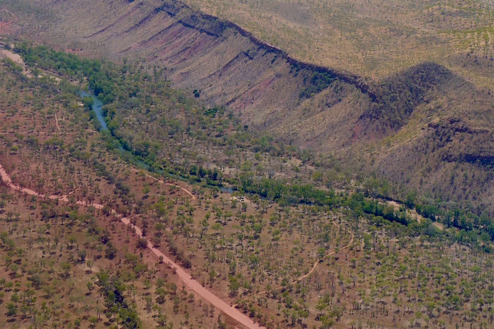 Farbenexplosion von oben - El Questro - Kimberley - Western Australia