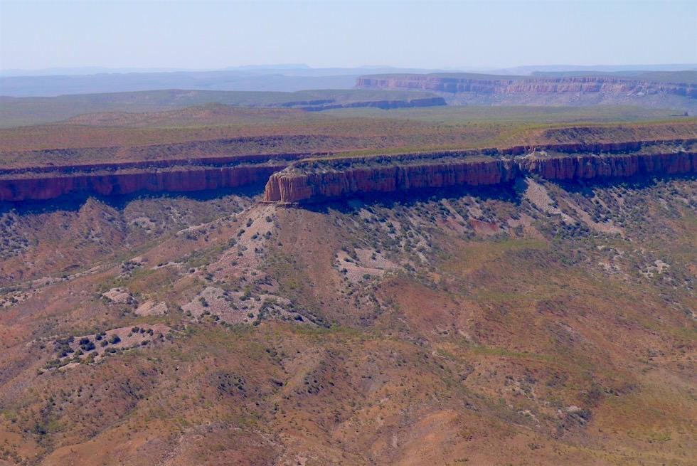 Cockburn Ranges - Escarpement von oben gesehen - Kingfisher Tours - Kimberley - Western Australia