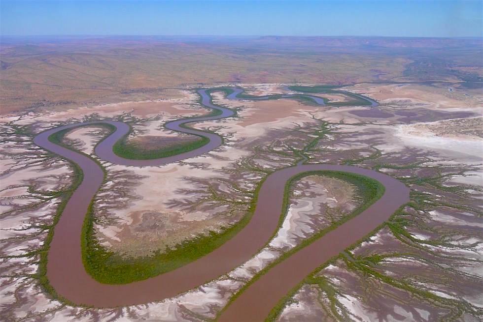 King River aus der Vogelperspektive - Wyndham - Kimberley - Western Australia