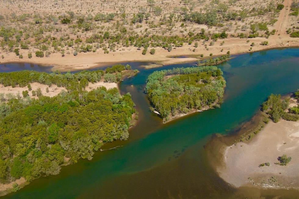 Lower Ord River von oben - Kimberley - Western Australia