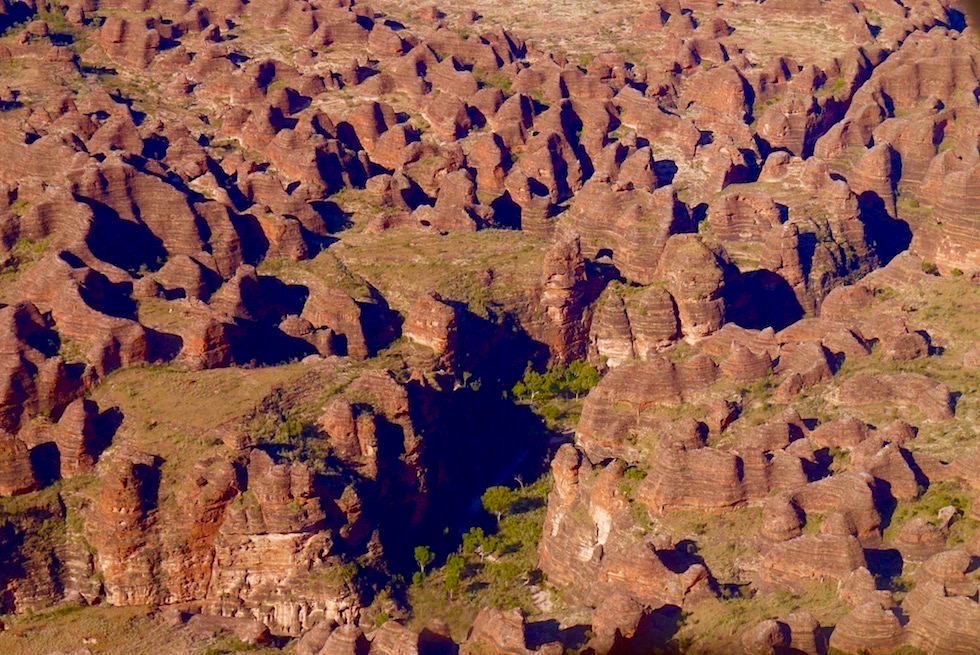 Bungle Bungles - Purnululu aus der Vogelperspektive - Kimberley - Western Australia