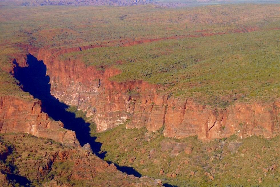 Blick von oben auf Deep Creeek - Bungle Bungles - Kimberley - Western Australia