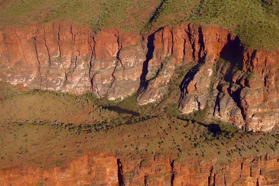 Klippen Westen von oben - Bungle Bungle National Park - Kimberley - Western Australia