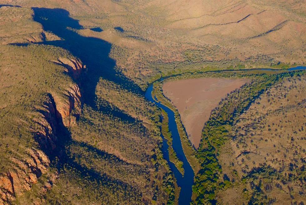 wunderschöne Ord River - Bungle Bungle Scenic Flight - Kimberley, Western Australia