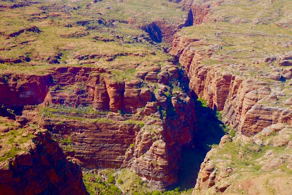 Purnululu & Bungle Bungle National Park - Wilde, enge Schluchten-Landschaften - Kimberley Outback - Western Australia