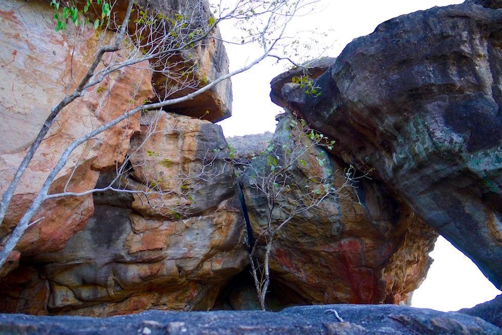 Bizarre Felsformatioen mit Wandmalereien - Arnhem Land - Northern Territory